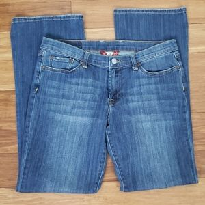 Lucky Brand Mid Rise Flare Jeans Size 10